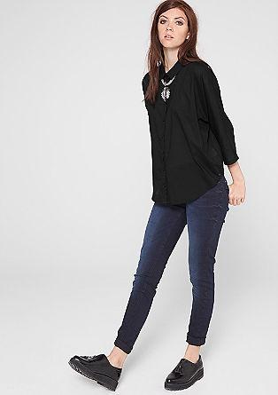 Kastige Oversize-Bluse