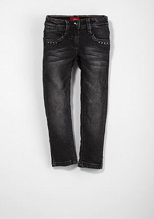 Kathy: obarvan raztegljiv jeans