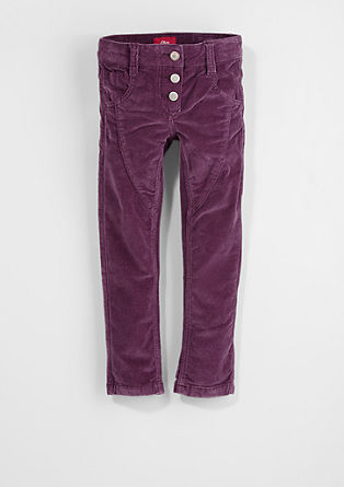 Kathy: stretch corduroy trousers from s.Oliver
