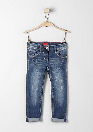 Kathy Straight: Jeans hlače z zvezdastimi kovicami