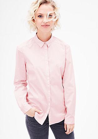 Katoenen blouse met motief