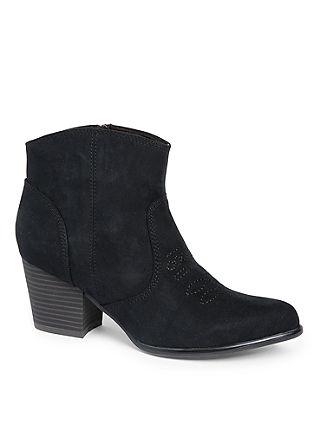 Kavbojski nizki škornji z vezenino
