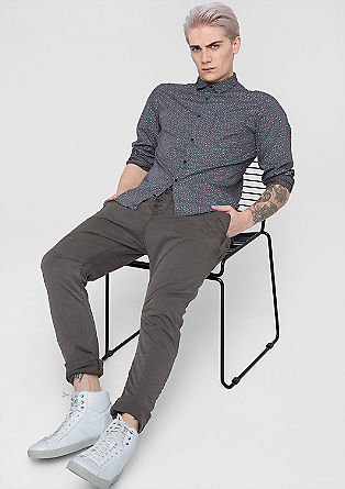 Keith Straight: utility style chinos from s.Oliver