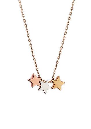 Kette mit Tricolor-Sternen