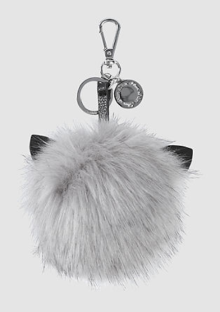 Key ring made of fake fur from s.Oliver