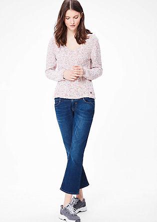 Kick Flare: jeans hlače na zvon dolžine 7/8