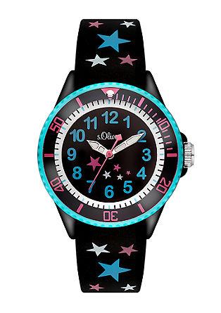 Kids-Uhr mit Silikonband