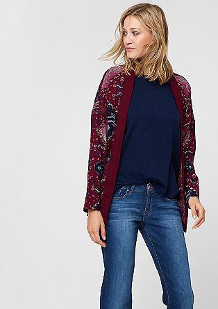 Kimono-Jacke mit Inka-Print