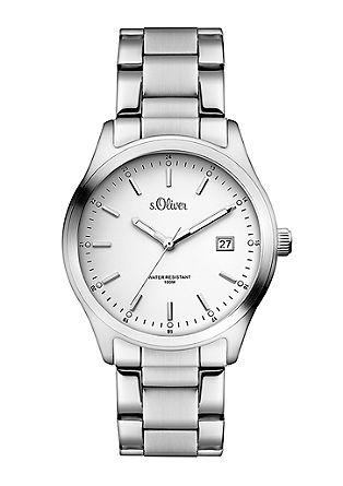 Klassiek horloge van edelstaal