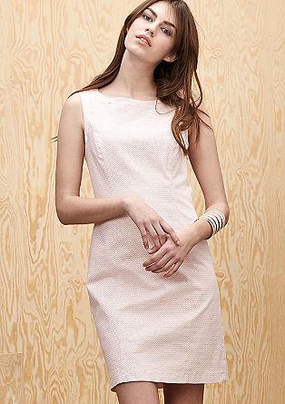 Kleid aus Baumwollsatin