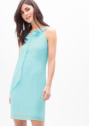 Kleid aus fließendem Chiffon