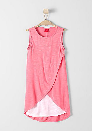 Kleid im Layer-Look