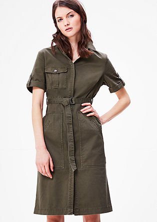 Kleid im Safari-Look
