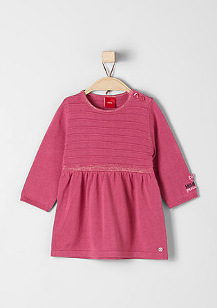 Kleid mit Glitzer-Details