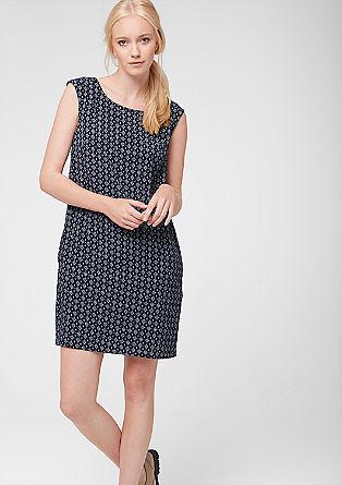 Kleid mit Multi-Print