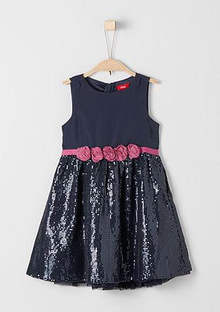 Kleid mit Paillettenrock