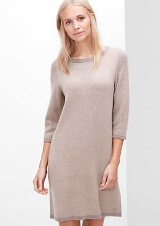 Knit dress in a wool blend from s.Oliver
