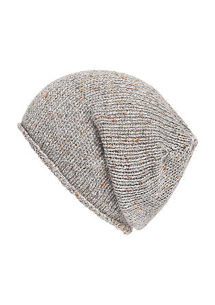 Knit hat with a percentage of wool from s.Oliver