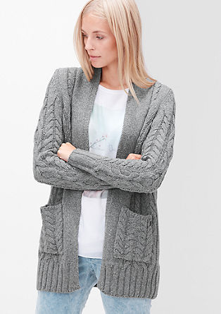 Knitted coat in blended wool from s.Oliver