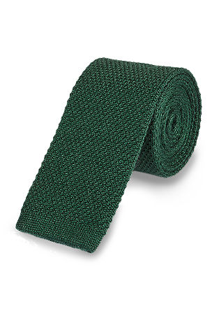 Knitted woollen tie from s.Oliver