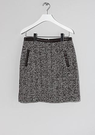 Korte rok in het zwart & wit