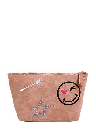 Kozmetična torbica z vezenino