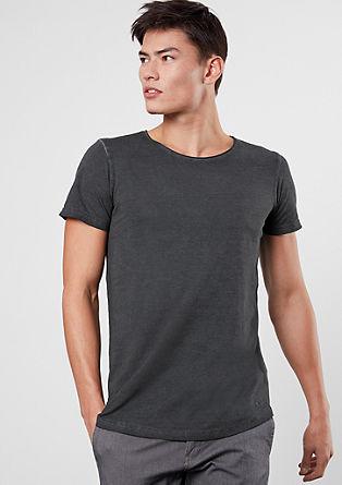 Kratka majica v pigmentiranem videzu