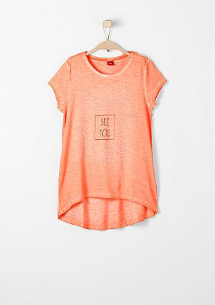 Kratka majica z okrasnimi kovicami
