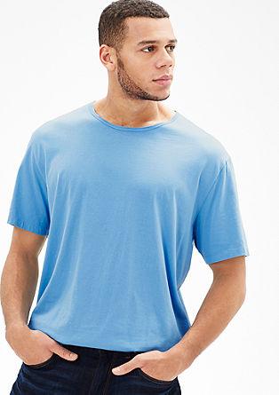 Kratka majica z okroglim izrezom v slogu vintage