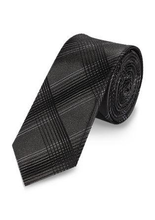 Kravata z vzorcem glencheck