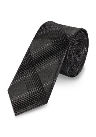 Krawatte im Glencheck-Design