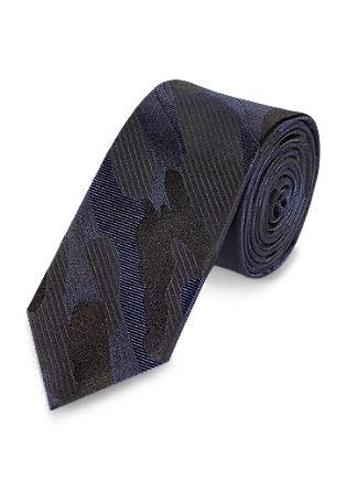 Krawatte mit Camouflage-Muster