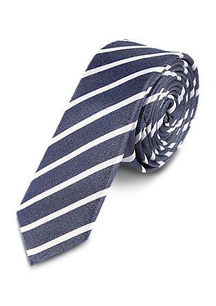 Krawatte mit Diagonalstreifen