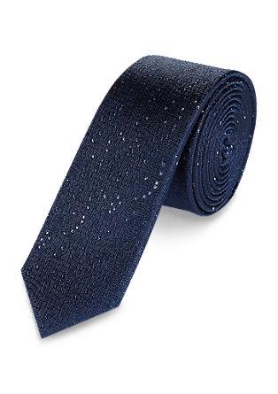 Krawatte mit Melange-Struktur