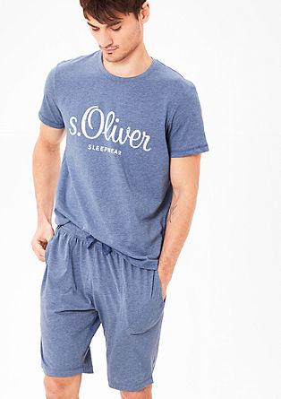 Kurze Pyjamahose aus Jersey