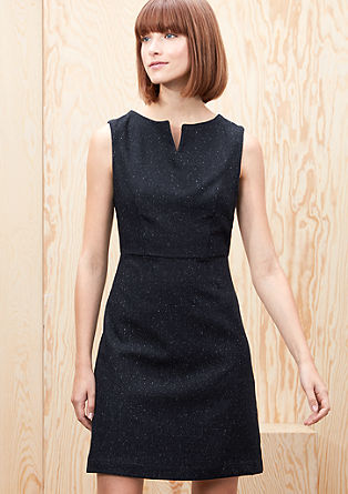 Kurzes Kleid aus Tweed