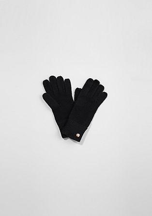 Kuschelige Strick-Handschuhe