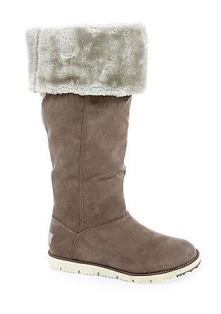 Laarzen met een warme pluchen voering