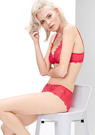 Lace bustier from s.Oliver