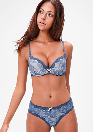 Lace non-wired push-up bra from s.Oliver
