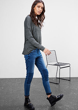 Lässiges 2-in-1-Shirt mit Top