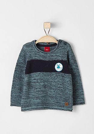 Lahek pleten pulover
