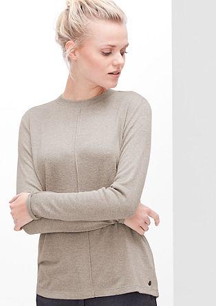 Lahek pulover iz fine pletenine