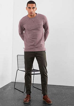 Lahek športen pulover melange