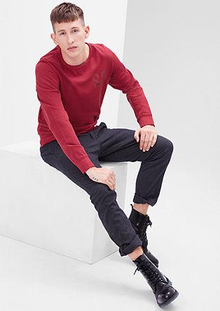 Lahek sweatshirt pulover z logotipom