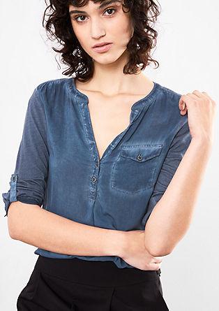 Lahka bluza, barvana s hladnim postopkom pigmentiranja