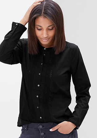 Lahka bluza iz kvačkane čipke