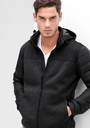 Lahka jakna iz mešanice materialov Thermore