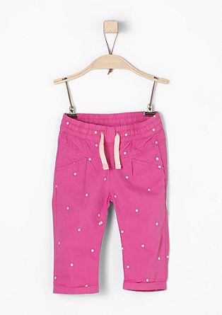 Lahke hlače s pikicami
