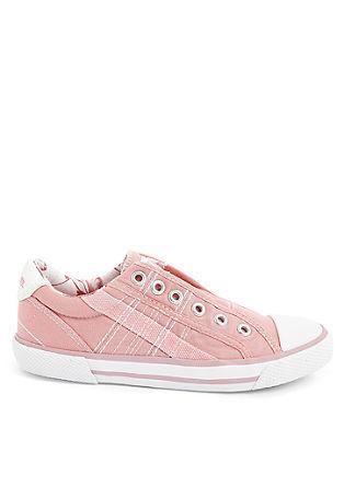 Lahki čevlji brez vezalk iz tekstila